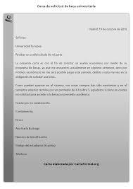 Formato De Carta De Solicitud