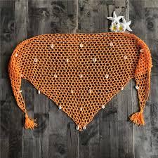 <b>Summer Women</b> Handmade Net Hollow Out Crochet <b>Triangle</b> Bikini ...