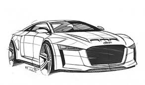 Small Picture Audi Quattro Concept Super Car Coloring Page Free Online Cars