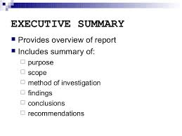 Writing Executive Summary Template Pin By Michael Farley On Business Executive Summary Executive