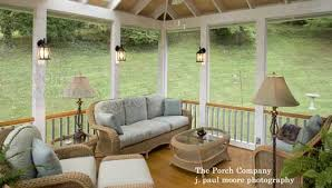 Image Door Outdoor Lamps And Sconces Add Ambiance On This Enclosed Porch Front Porch Ideas Lovely Screen Porch Ideas For Your Furnishings And Amenities