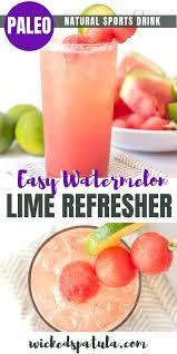 lime watermelon coconut water recipe a