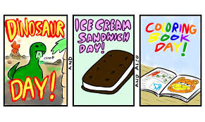 dinosaur ice cream sandwich coloring book day is a mighty mash up goics