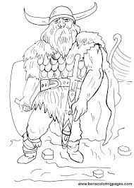 Small Picture Viking coloring pages Viking warrior coloring page for free