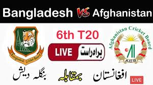 ?Gazi TV Live Cricket Match Today Online Bangladesh vs Afghanistan 6th T20  2019 - YouTube