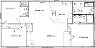 Ranch Style House Plans With Open Floor Plan 3 Bedroom Open Floor