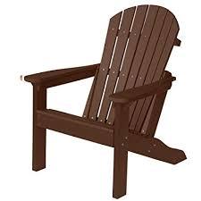 Berlin Gardens ComfoBack Adirondack Chair  Chocolate Brown