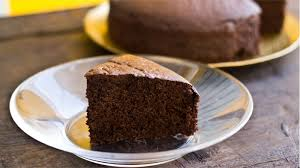 Eggless Chocolate Sponge Cake Recipe The Terrace Kitchen