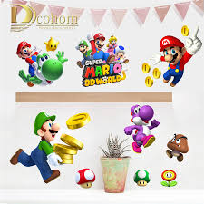 Mario Bros Bedroom Decor Popular Mario Bros Bedroom Decor Buy Cheap Mario Bros Bedroom