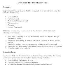 Employee Performance Letter Sample Evaluation Letter Template Appraisal Engagement Sample