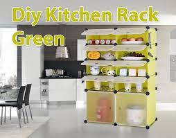 diy kitchen rack