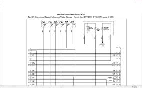 1998 4700 dt466e no crank no start not sending ground signal international 4900 fuse panel diagram at 1998 International 4900 Wiring Diagram