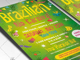Free Carnival Poster Template Brazilian Carnival Flyer Psd Template By Psd Market On