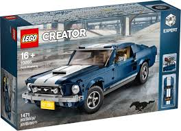 Mustang Designer Designer Video For Lego Creator Ford Mustang 10265 And