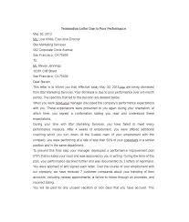 Job Dismissal Letter Termination Letter Templates Free Sample ...