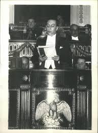 1933 Press Photo Pres. of Mexico Abelardo Rodriguez | Historic Images