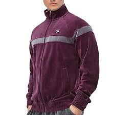fila jacket mens. mens-fila-velour-old-school-classic-striped-tracksuit- fila jacket mens