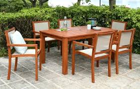 patio dining chairs set of 6 wooden garden dining set 6 patio dining set with 6