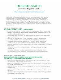 Accounts Payable Resume Mesmerizing Accounts Payable Lead Resume Samples QwikResume