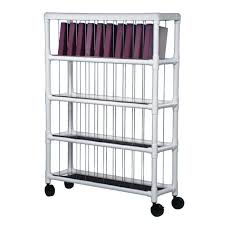 Notebook Chart Rack Holds 40 Ring Binders 1 Ea
