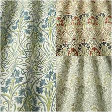 Curtain Fabric Iliv Tiffany Floral Woven Designer Curtain Upholstery Fabric 3