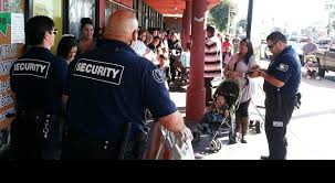 crowd control security
