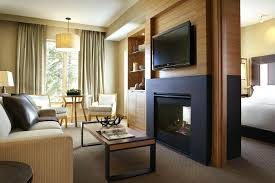 two way electric fireplace two way gas fireplace features matching flat screen house throughout idea electric