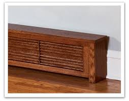 wood baseboard heater covers google search