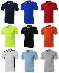 Details About Adidas Youth Entrada 18 Training Soccer Climalite 9 Colors S S Kid Shirts Cf1041
