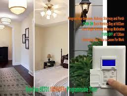 7 Day Digital In Wall Programmable Timer Switch HET01 Topgreener