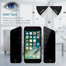 <b>Anti spy</b> Privacy Tempered Glass <b>Screen Protector</b> for iPhone 6Plus ...