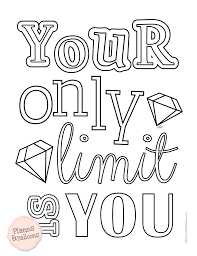 motivational coloring pages.  Coloring Free Motivational Coloring Pages Inside Motivational Coloring Pages I