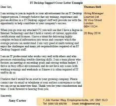 Desktop Support Specialist Cover Letter Best So Elegant Desktop
