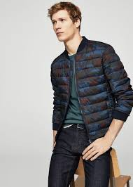 Camouflage quilted bomber jacket - Men | MANGO Man USA & Camouflage quilted bomber jacket | MANGO MAN Adamdwight.com