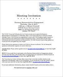 Meeting Invite Template Zlatan Fontanacountryinn Com