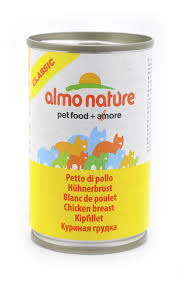 <b>Консервы</b> (банка) <b>Almo Nature Classic</b> Adult Cat Chicken Breast
