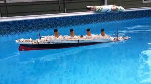 Rc Titanic Sinking With Lights Model 1 570 Titanic Sinking And Splitting