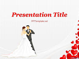 Wedding Powerpoint Background Free Wedding Dance Ppt Template