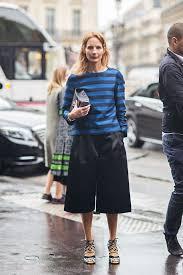 Arabella Greenhill (Stockholm Streetstyle)   Street style, How to style  culottes, Culottes street style