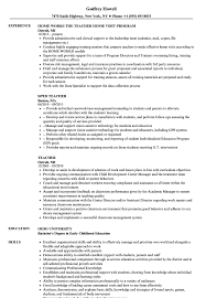 Teaching Resume Examples Teacher Resume Samples Velvet Jobs 81
