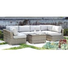 brown set patio source outdoor. Living Source International Marina 7-piece Outdoor Conversation Set - Free Shipping Today Overstock 22922069 Brown Patio