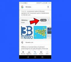 Previsioni Meteo: segui 3BMETEO su Google Discover! Ecco come fare « 3B  Meteo