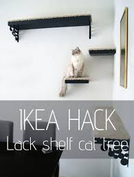diy cat shelves cat tree made out of lack shelves rug and diy cat shelf diy cat shelves