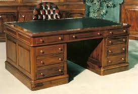leathertop desk leather top pedestal desk antique oak large century with regard to remodel vintage leather
