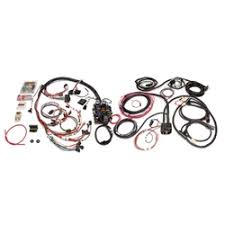 classic truck chassis wiring harnesses shipping speedway painless wiring 101500 21 circuit cj jeep wiring harness 1975 86