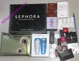 sephora me card programme and gifts with purchase cosmetopia digest beauty and makeup