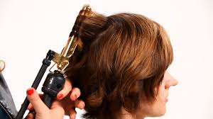Hair Style Curling using curling iron on short hair pt 1 short hairstyles youtube 5658 by wearticles.com