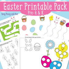 Easter Printables for Kids - Easy Peasy and Fun