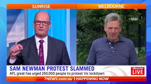 Victoria has been plunged into lockdown for the third time after an outbreak of the uk mutant strain in a melbourne quarantine hotel. Newman S Backflip Over Virus Protest Queensland Times