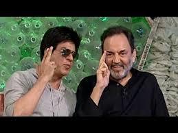 SRK turns acting teacher for Prannoy Roy - YouTube